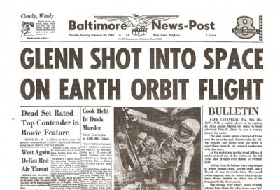 The '60s at 50: Tuesday, February 20, 1962: John Glenn