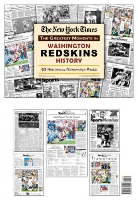 Washington Redskins History Newspaper